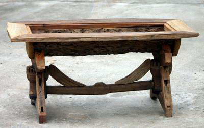 Wooden Table Handicraft