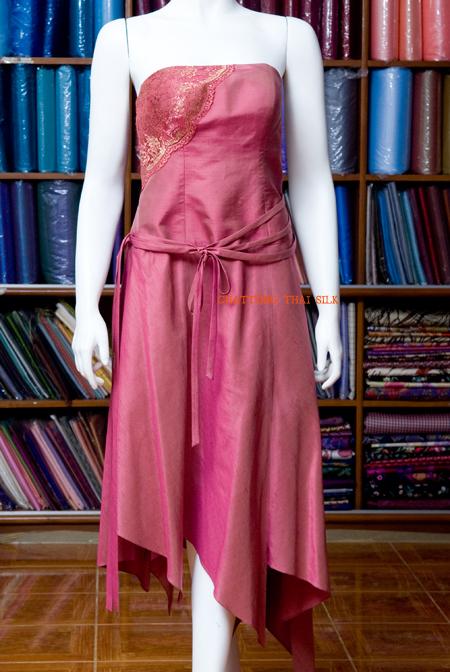 Buy Silk Dress LA 012