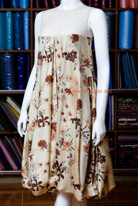 Buy Silk Dress LA 004