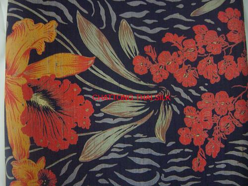 Buy Printed-design Silk PA012
