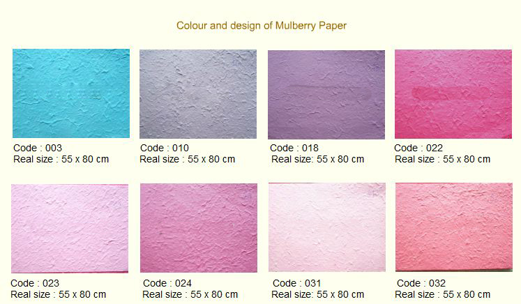 Buy Mulberry paper