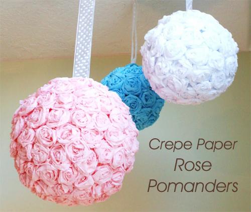 Buy Paper Rose Ball