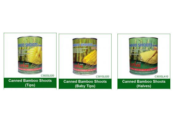 Buy Canned Bamboo Shoots (Tips)