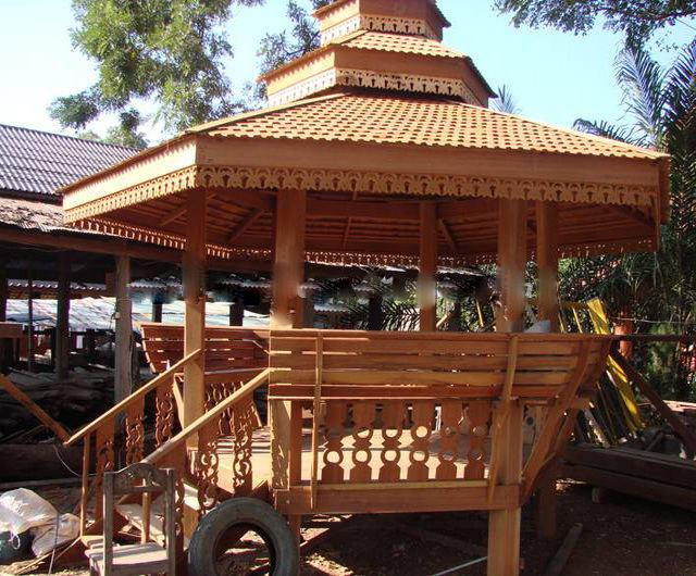 Buy Pavilions - Dreams made of Teak or Hardwood