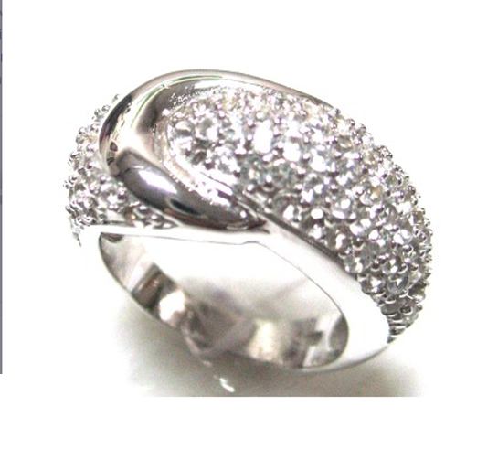Buy Sterling Silver Ring with CZ
