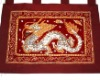 Chinese Dragon Thai Silk Wall Hanging Curtain