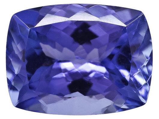 Buy Tanzanite Cushion Gemstone