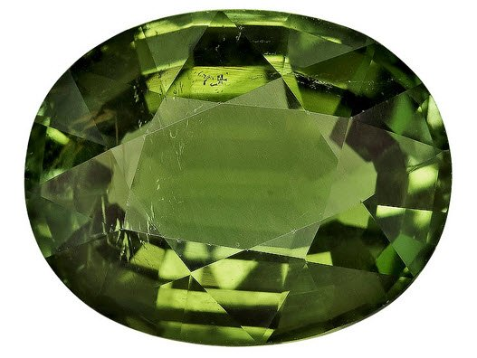 Buy Oval Mozambique Green Tourmaline Stone