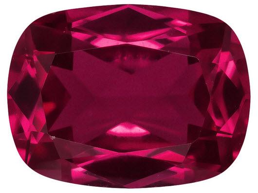Buy Cushion Ruby Stone