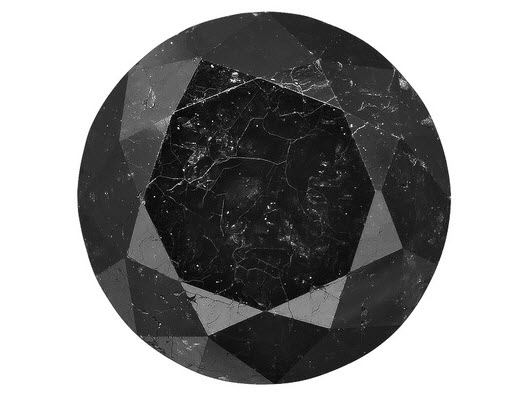 Buy Black Round Diamond Cut