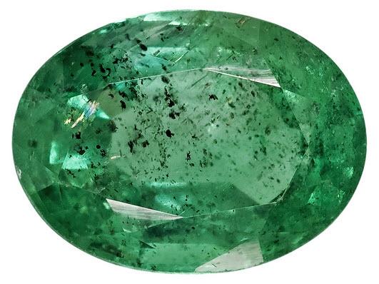 Buy Oval Zambian Emerald Gemstone