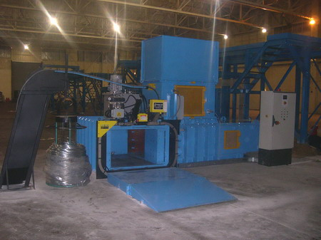 Buy SRS Twin Ram 120T Recycling system