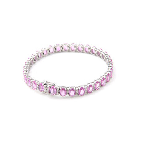 Buy Pink Sapphire Bracelet