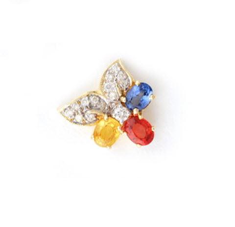Buy Rainbow Sapphire Pendant