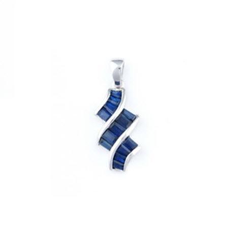 Buy Blue Sapphire Pendant