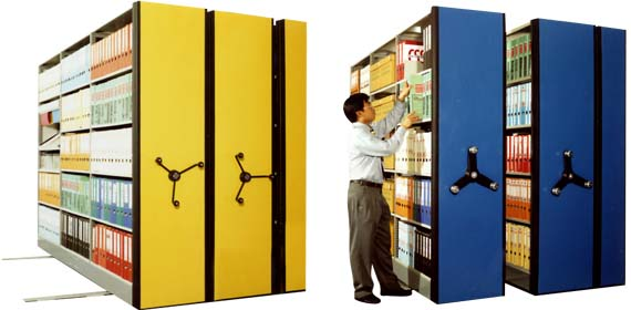 Buy Compact Mobile Shelves Systems
