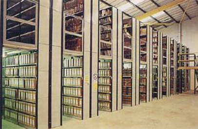 Micro Racking Stationary Shelves Systems