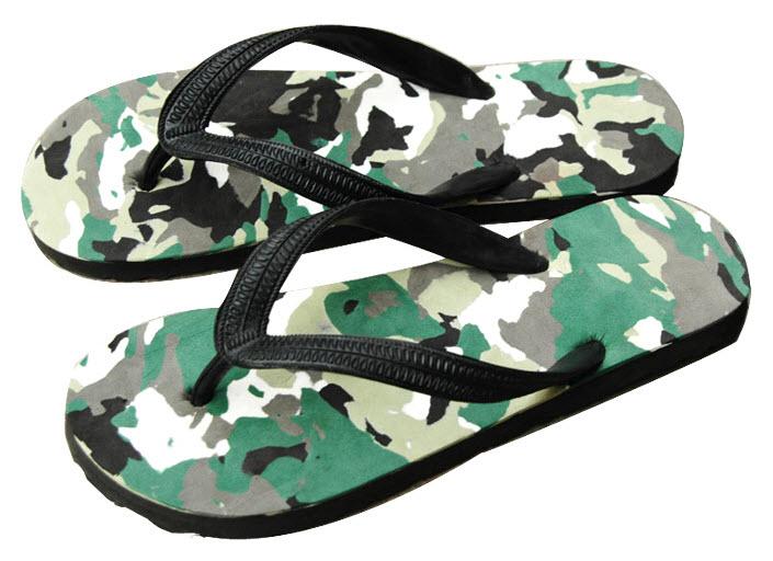 Buy Camouflage Foam Fun Summer Flip Flop Shoes