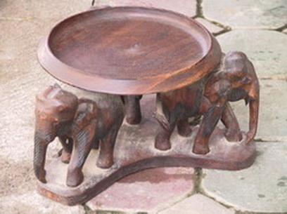 Buy 3 Elephants Under Table FT109