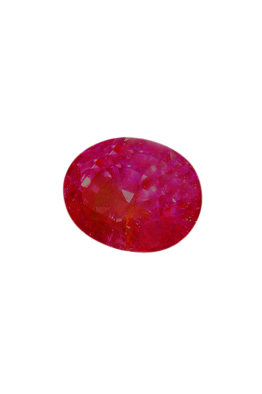 Buy Burmese untreated pinkish red ruby