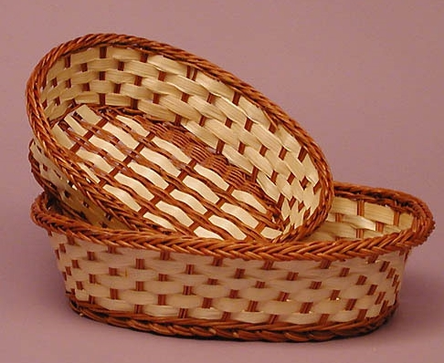 Buy Oval Bamboo Basket