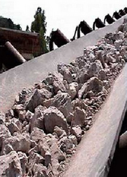 Buy Rubber Conveyor Belt Ware Resistance Diamond-De