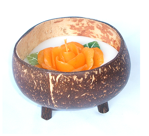 Buy Candle in Coconut Set 1