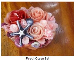 Buy Peach Ocean Set