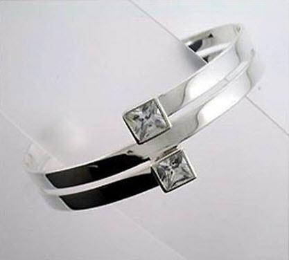 Buy Cuff silver bangle