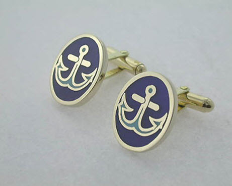 Buy Sea theme cufflink