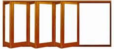 Buy Bifold Folding Wood Doors and Windows