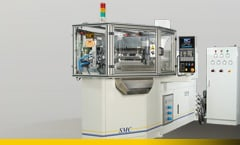 Buy Horizontally set-up SMC Injection Blow moulding machine