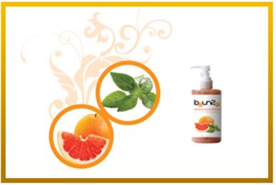Buy Refreshing Basil & grapefruit shower gel scrub