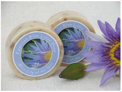 Buy Blue lotus flowers soap