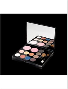 Buy Glamorous 12 Color Eyeshadow & Blusher Set