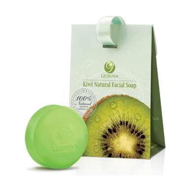 Buy GEDUNA Kiwi Natural Facial Soap (Crystal).