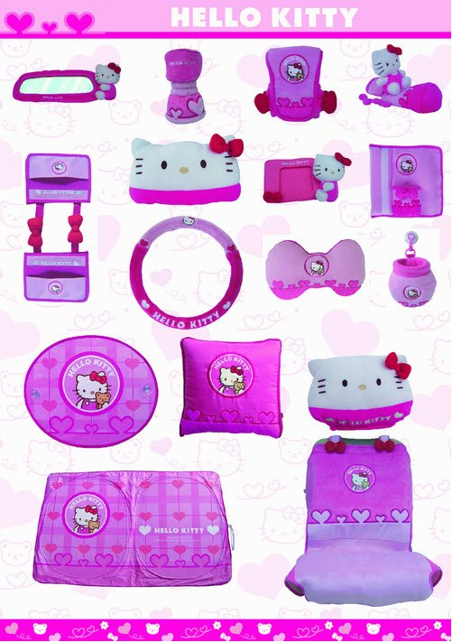 Buy Hello Kitty interior kit