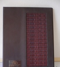 Buy Leather menu cover