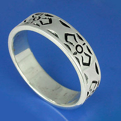 Buy Simple silver ring