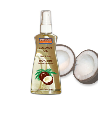 Buy Coconut Oil 100% Hair & Body (150 ml.)