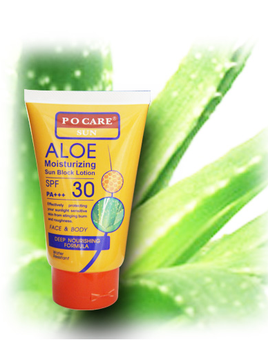 Buy Aloe Moisturizing Sun Block Lotion SPF 30 PA+++ (120 ml.)