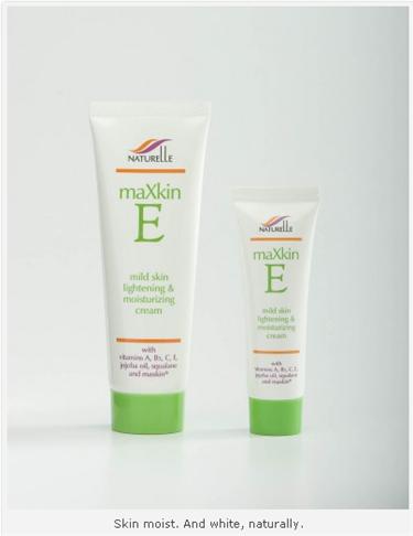 Buy MaXkin E Lightening Cream.