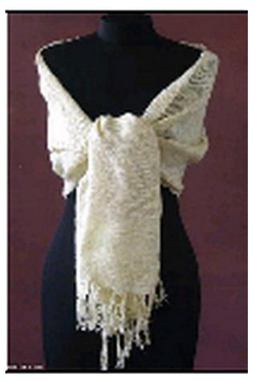 Buy Kinuko Golden Silk Hand Woven Shawls