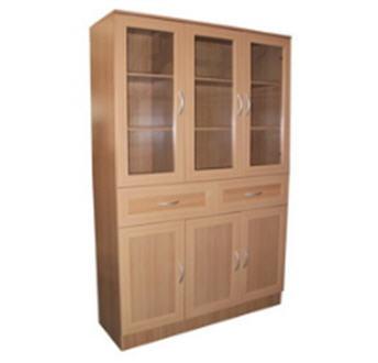 Buy Book Case 3 Door With Glass PBC-09805