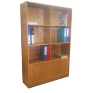 Buy Book Case With Sliding Glass PBC-09803