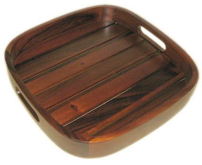 Buy Square slat serve tray