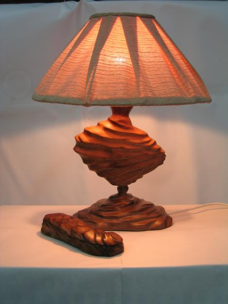 TL-09 Handicraft Asian Oriental Table Lamp / Rattan Style