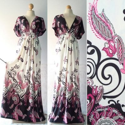 Buy Kimono Maxi dress