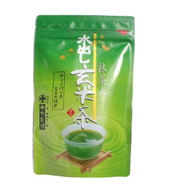 Buy Mizudashi Matchairi Genmaicha Tea