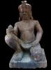 Buy Kneeling Yaksha (Guardian) , Sandstone Carving